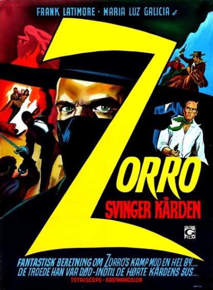 Zorro the Avenger (1962) with English Subtitles on DVD on DVD