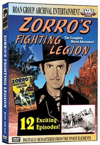 Zorro's Fighting Legion (1939) starring Reed Hadley on DVD on DVD